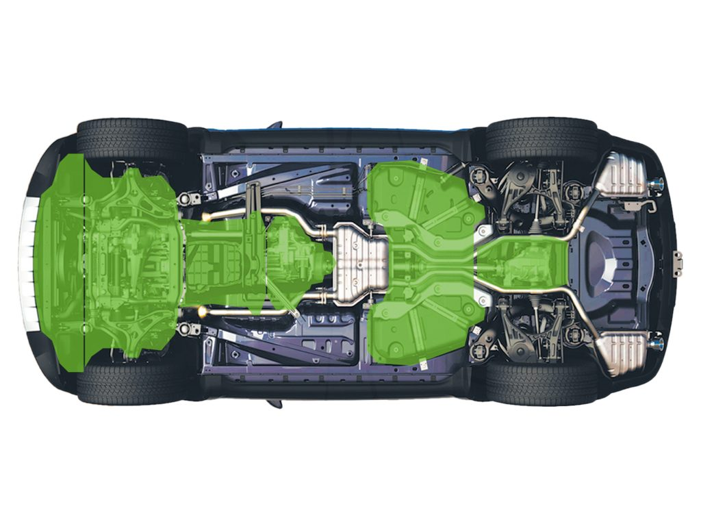 osłona pod silnik